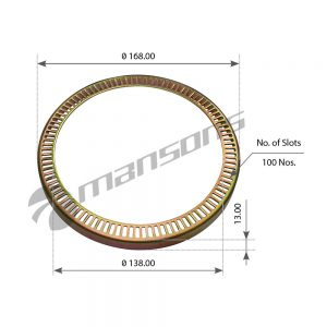 טבעת ABS דאף 100 Mansons 168×138